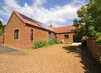 Thumbnail 3 bed detached house for sale in Heacham Road, Sedgeford, Hunstanton, Norfolk.