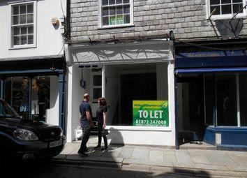 Thumbnail Retail premises to let in 8, Duke Street, Truro, Cornwall