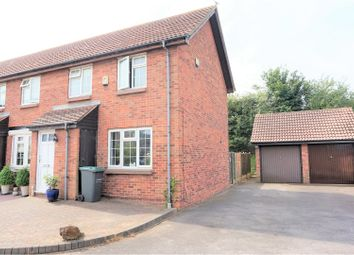 Thumbnail 2 bed end terrace house for sale in The Clovers, Gravesend