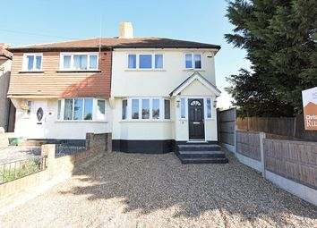 Thumbnail 3 bed semi-detached house for sale in Ridgeway West, Sidcup