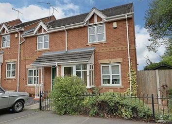 Thumbnail 2 bed town house for sale in Rose Garth Close, Spital, Chesterfield, Derbyshire