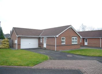 Thumbnail 2 bed detached bungalow for sale in Detached Bungalow In Village Location Rivermede, Ponteland, Newcastle Upon Tyne