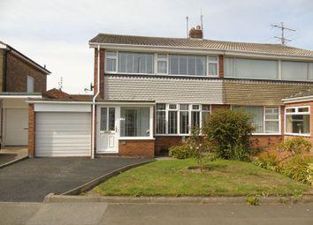 Thumbnail 3 bedroom semi-detached house for sale in Sevenoaks Drive, Sunderland