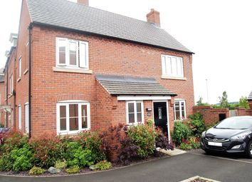 Thumbnail 3 bed detached house for sale in Barnards Way, Kibworth Harcourt, Leicester