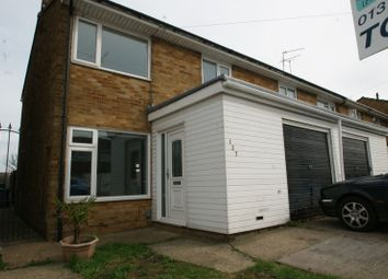 Thumbnail 3 bed semi-detached house to rent in Byron Gardens, Tilbury