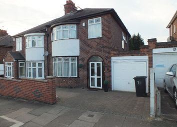 Thumbnail 4 bedroom semi-detached house for sale in New Way Road, Off Midway Road, Evington, Leicester
