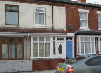 Thumbnail 3 bed terraced house to rent in Wright Road, Saltley, Birmingham