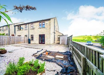Thumbnail 3 bed semi-detached house for sale in Emmott Court, Laneshawbridge, Colne, Lancashire
