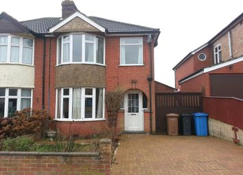 Thumbnail 3 bed property to rent in Pine View Road, Ipswich