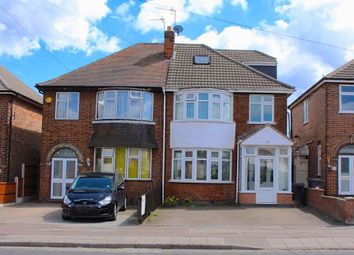 Thumbnail 4 bed semi-detached house for sale in Catherine Street, Leicester