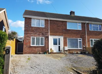 Thumbnail 4 bed semi-detached house for sale in Cunningham Avenue, Axminster, Devon
