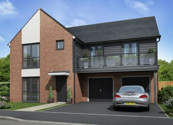 "Thumbnail 5 bedroom detached house for sale in ""The Turner "" at Sir Bobby Robson Way, Newcastle Upon Tyne"