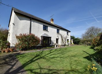 Thumbnail 4 bed farmhouse for sale in Halberton Road, Willand, Cullompton, Devon