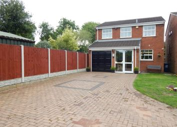 Thumbnail Detached house for sale in Princess Close, Chase Terrace, Burntwood