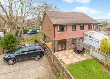 Thumbnail 3 bed semi-detached house for sale in Hawkenbury Way, Lewes