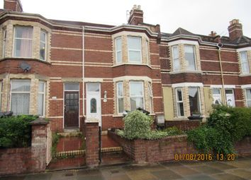 Thumbnail 3 bed terraced house to rent in Pinhoe Road, Exeter