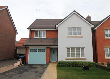 Thumbnail 4 bed detached house for sale in Glastonbury Way, Daventry