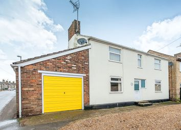 Thumbnail 3 bedroom detached house for sale in Main Street, Farcet, Peterborough