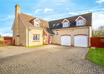 Thumbnail 5 bed detached house for sale in The Paddocks, Wimblington, March, Cambridgeshire