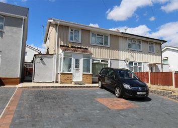 Thumbnail 3 bed semi-detached house for sale in Graylands Road, Bilborough, Nottingham
