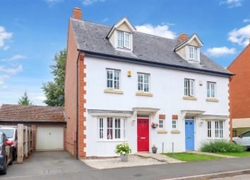 Thumbnail 4 bed semi-detached house for sale in Old School Mead, Bidford-On-Avon, Alcester