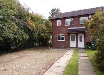 Thumbnail 2 bed end terrace house for sale in Creaton Court, Wigston, Leicester, Leicestershire