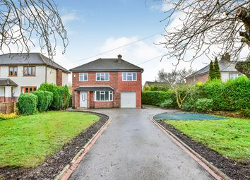Thumbnail 4 bed detached house for sale in Congleton Road, Macclesfield, Cheshire