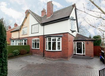 Thumbnail 4 bed semi-detached house for sale in Keele Road, Newcastle-Under-Lyme