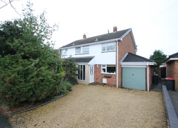 Thumbnail 3 bed semi-detached house for sale in Little Warton Road, Warton, Tamworth