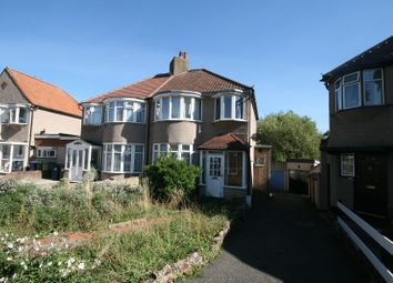 Thumbnail 3 bed semi-detached house for sale in Horsenden Crescent, Sudbury Hill, Harrow