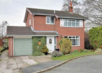 Thumbnail 3 bed detached house for sale in Asquith Close, Haslington, Crewe