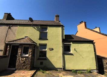 Thumbnail 3 bed end terrace house for sale in Clwt-Y-Bont, Caernarfon