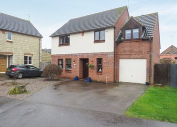 Thumbnail 3 bed detached house for sale in The Paddocks, Folksworth, Peterborough