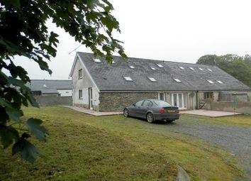Thumbnail 3 bed farmhouse for sale in Dolgran, Dolgran, Pencader, Carmarthenshire