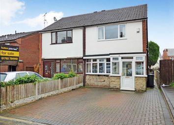 Thumbnail 3 bedroom semi-detached house for sale in Church Street, Talke, Stoke-On-Trent