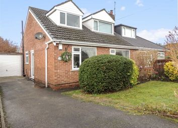 Thumbnail 4 bed semi-detached bungalow for sale in Begley Close, Romiley, Stockport