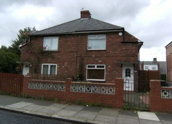 Thumbnail 2 bed semi-detached house to rent in Nelson Avenue, Gosforth, Newcastle Upon Tyne