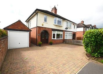Thumbnail 3 bed semi-detached house for sale in Eleanor Crescent, Westlands, Newcastle-Under-Lyme