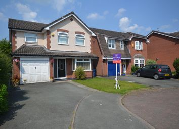 Thumbnail Detached house for sale in Dovecote Green, Westbrook, Warrington