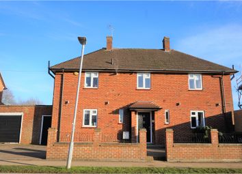Thumbnail 4 bedroom detached house for sale in Harcourt Road, Bushey