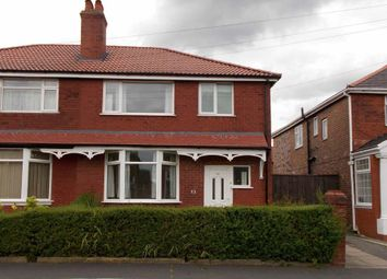 Thumbnail 3 bed semi-detached house to rent in Elsdon Road, Manchester