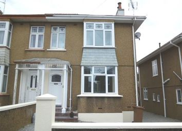 Thumbnail 3 bed semi-detached house to rent in Brancker Road, Milehouse, Plymouth