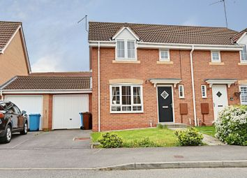 Thumbnail 3 bedroom semi-detached house for sale in Dovestone Way, Kingswood, Hull