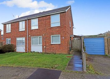 Thumbnail 3 bed semi-detached house to rent in Dunholt Way, Colne, Huntingdon