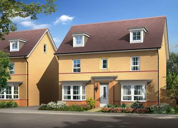"Thumbnail 5 bedroom detached house for sale in ""Warwick"" at Warkton Lane, Barton Seagrave, Kettering"