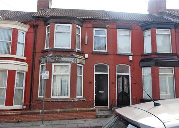 Thumbnail 3 bed terraced house to rent in Oban Road, Anfield, Liverpool