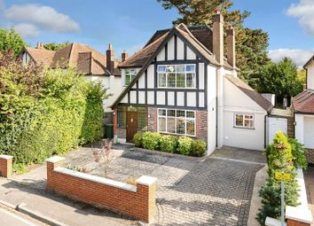 Thumbnail 4 bed detached house for sale in Conaways Close, Ewell, Epsom