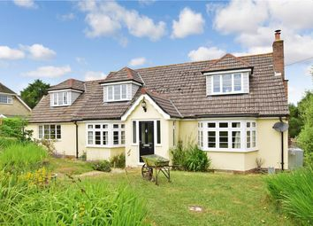 Thumbnail 4 bed detached bungalow for sale in Burnt House Lane, Alverstone, Sandown, Isle Of Wight