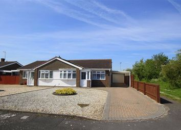 Thumbnail 2 bed semi-detached bungalow for sale in Passmore Close, Swindon, Wiltshire