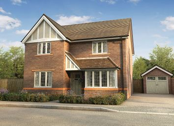 "Thumbnail 4 bedroom detached house for sale in ""The Harwood"" at London Road, Holmes Chapel"